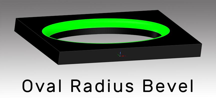 Oval Radius Bevel